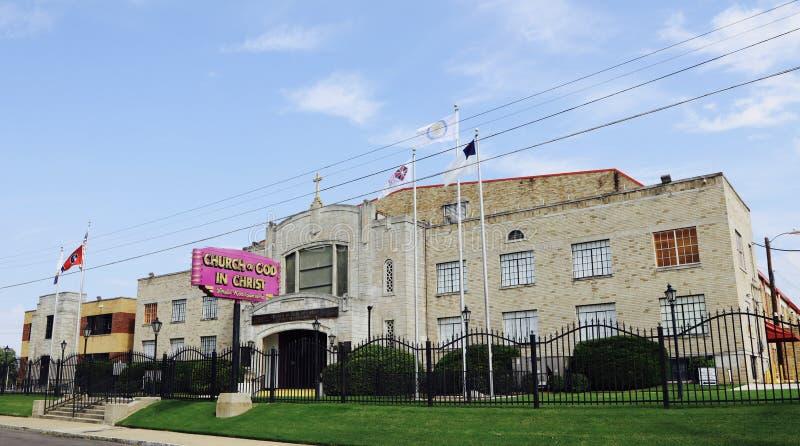Kirche des Gottes in Christus-Hauptsitzen, Memphis, TN stockfoto