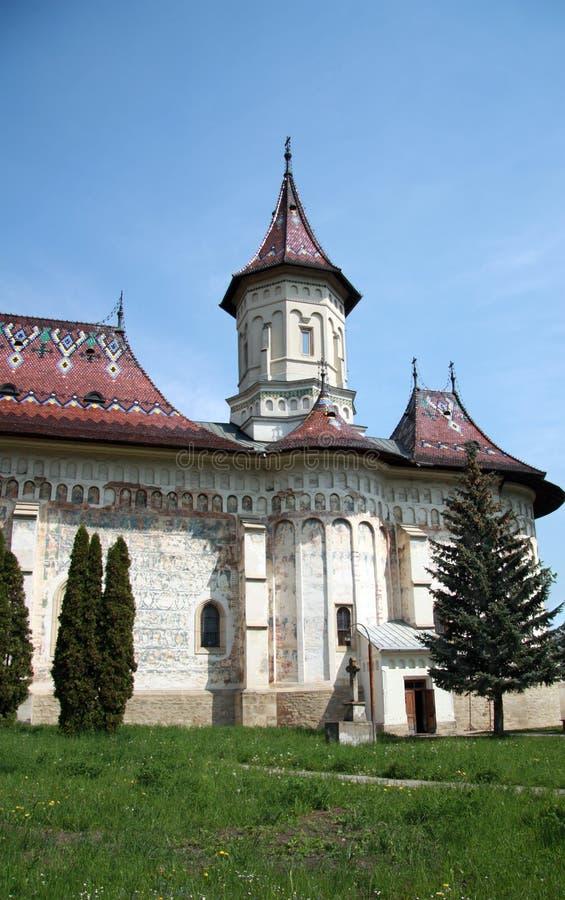 Kirche des Heiligen George, Suceava, Rumänien lizenzfreie stockbilder