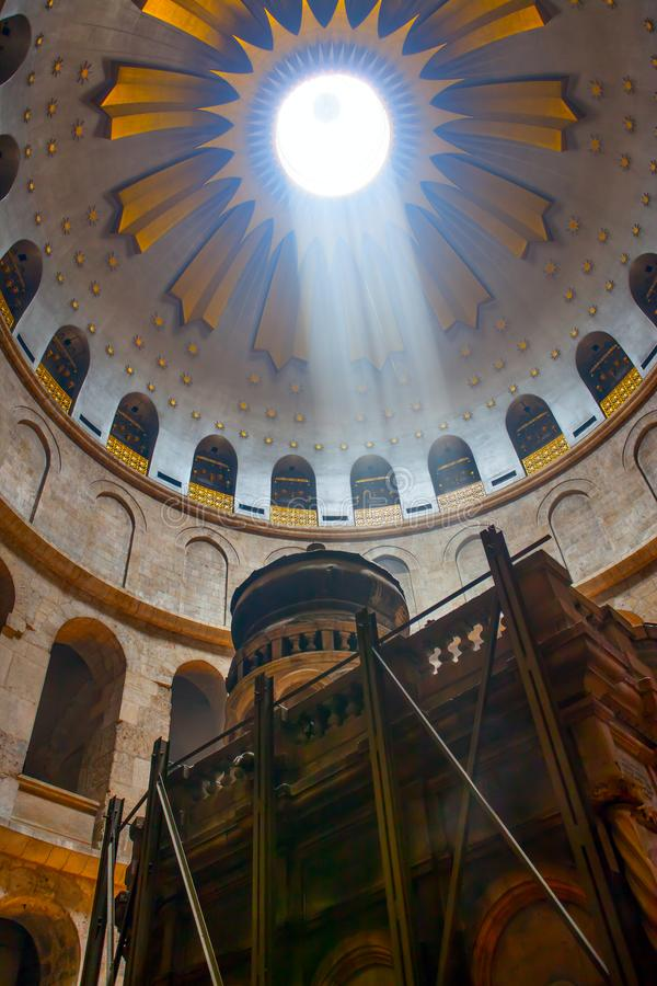 Kirche des heiligen Grabes lizenzfreie stockbilder