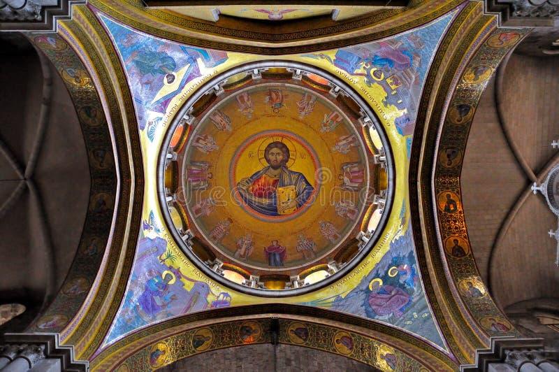 Kirche des heiligen Grabes, Jerusalem Israel lizenzfreie stockfotografie