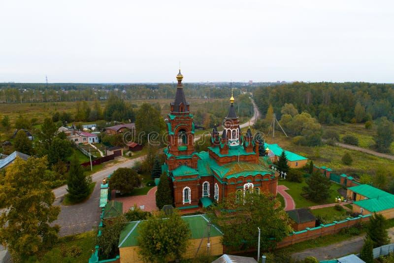 Kirche des heiligen großen Märtyrers Catherine lizenzfreie stockfotografie