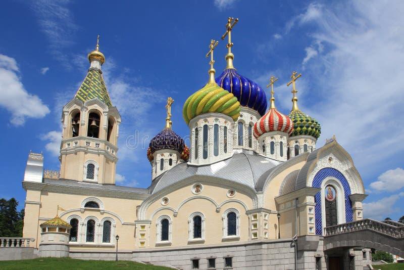 Kirche des heiligen Igor von Chernigov (Moskau) lizenzfreie stockfotos