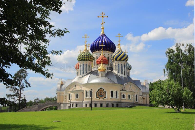 Kirche des heiligen Igor von Chernigov (Moskau) lizenzfreie stockbilder