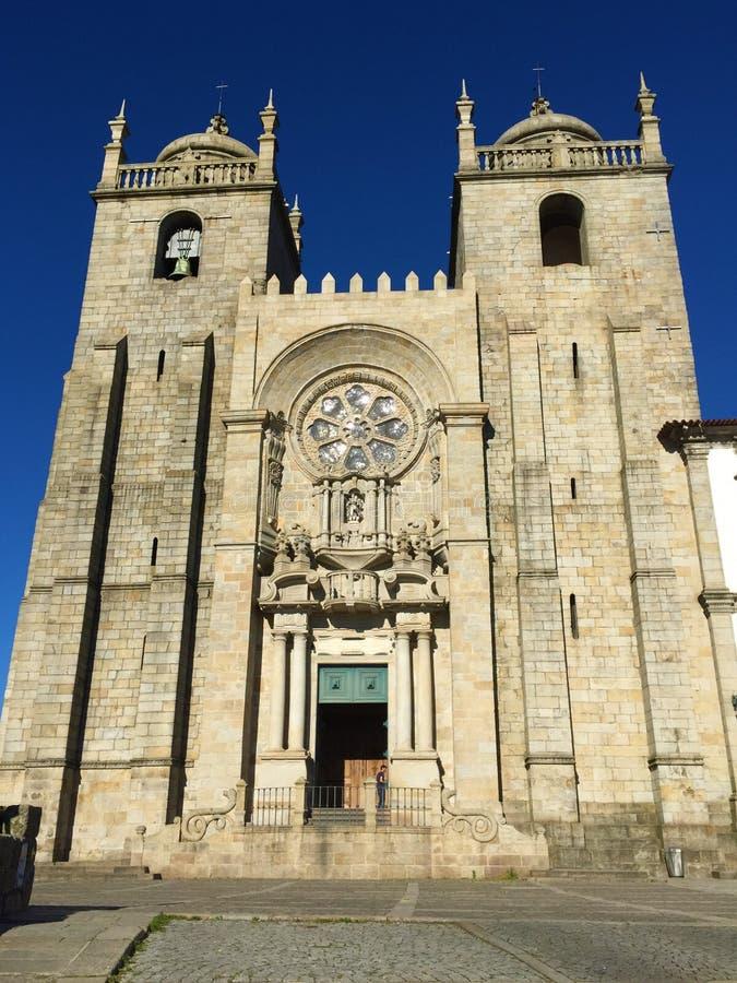 Kirche des Heiligen Ildefonso in Porto Portugal stockfotografie
