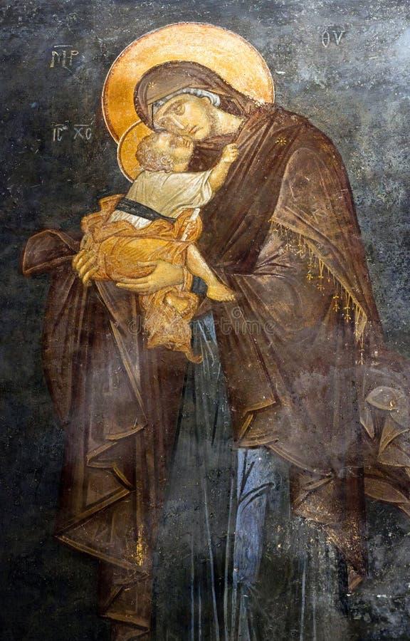Kirche des heiligen Retters in Chora in Istanbul, die Türkei lizenzfreie stockfotografie