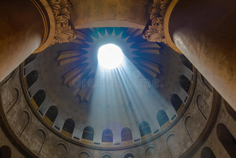Kirche des heiligen Sepulcher jerusalem israel lizenzfreie stockbilder