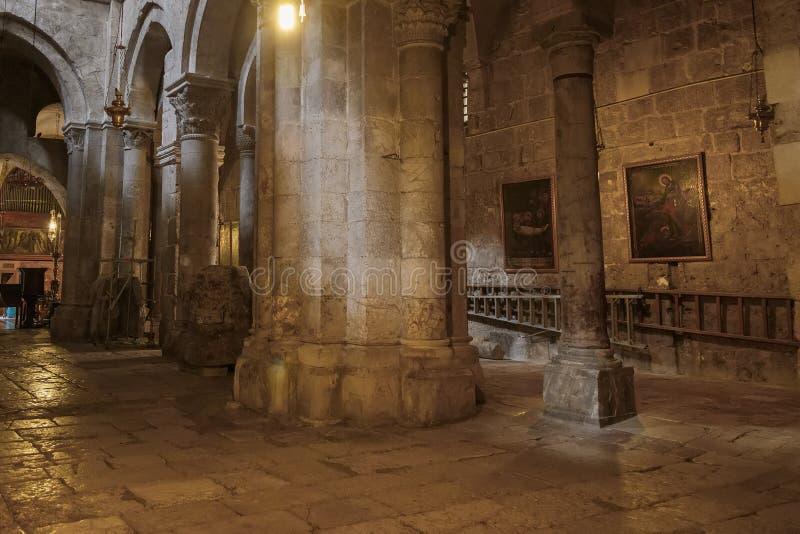 Kirche des heiligen Sepulcher jerusalem israel lizenzfreies stockbild