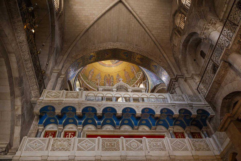 Kirche des heiligen Sepulcher jerusalem israel lizenzfreies stockfoto