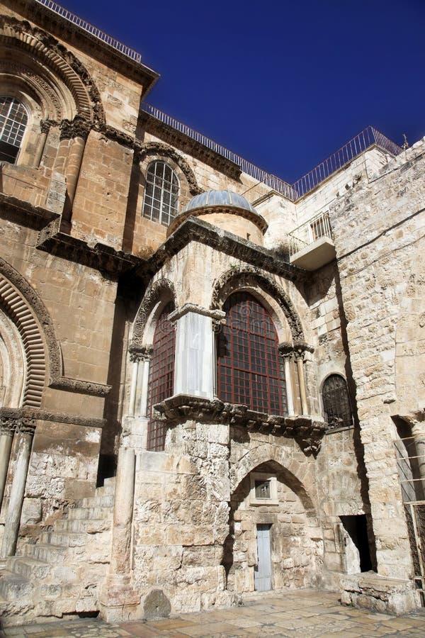 Kirche des heiligen Sepulchre in Jerusalem lizenzfreie stockfotografie