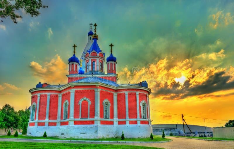 Kirche des Theotokos von Tikhvin bei Kolomna der Kreml, Russland lizenzfreie stockfotos