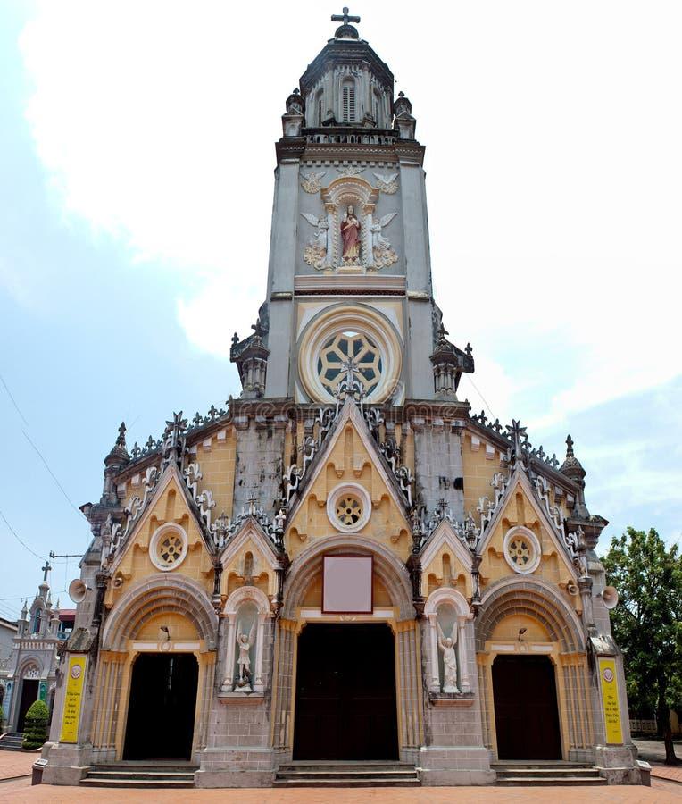 Kirche in Dorf Kenh GA lizenzfreies stockfoto