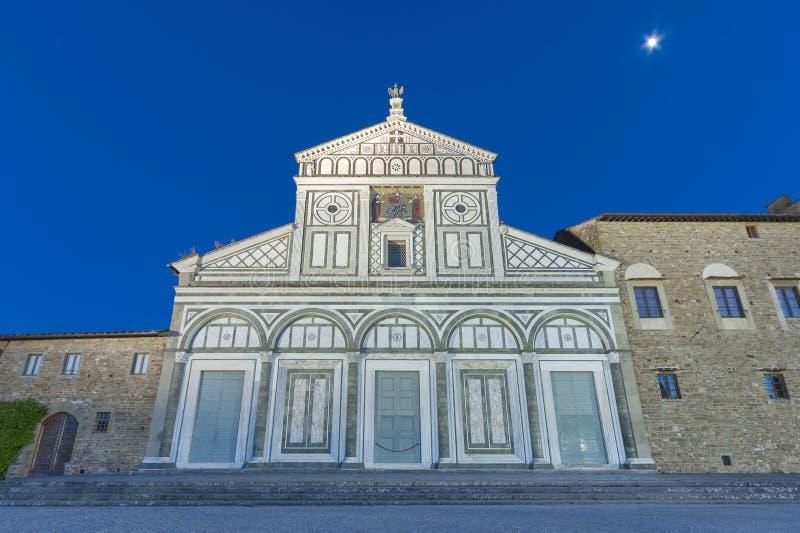 Kirche in Florenz, Toskana, Italien stockfoto