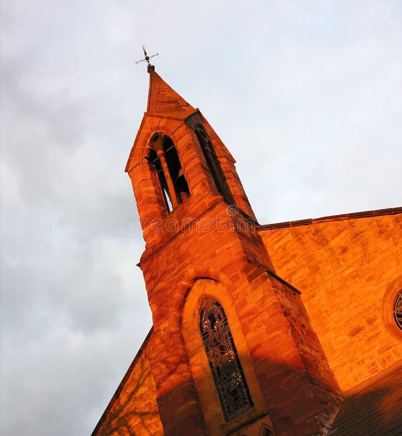Kirche-Frontseite Stockfotos
