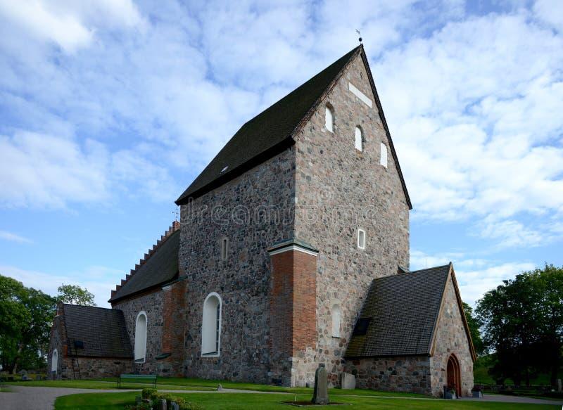 Kirche Gamla Uppsala stockfotos