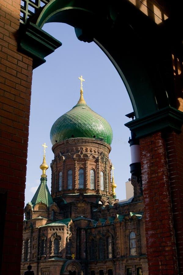Kirche Harbin Str.-Sophia lizenzfreie stockbilder