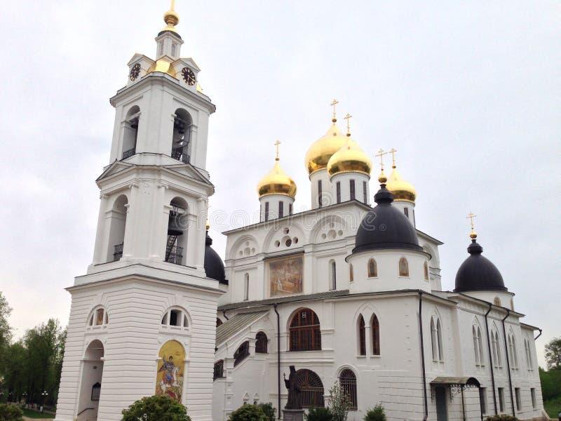 Kirche im dmitrov lizenzfreie stockfotos