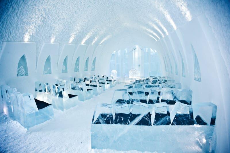 Kirche im Eishotel stockfoto. Bild von grenzstein, schweden - 39980176