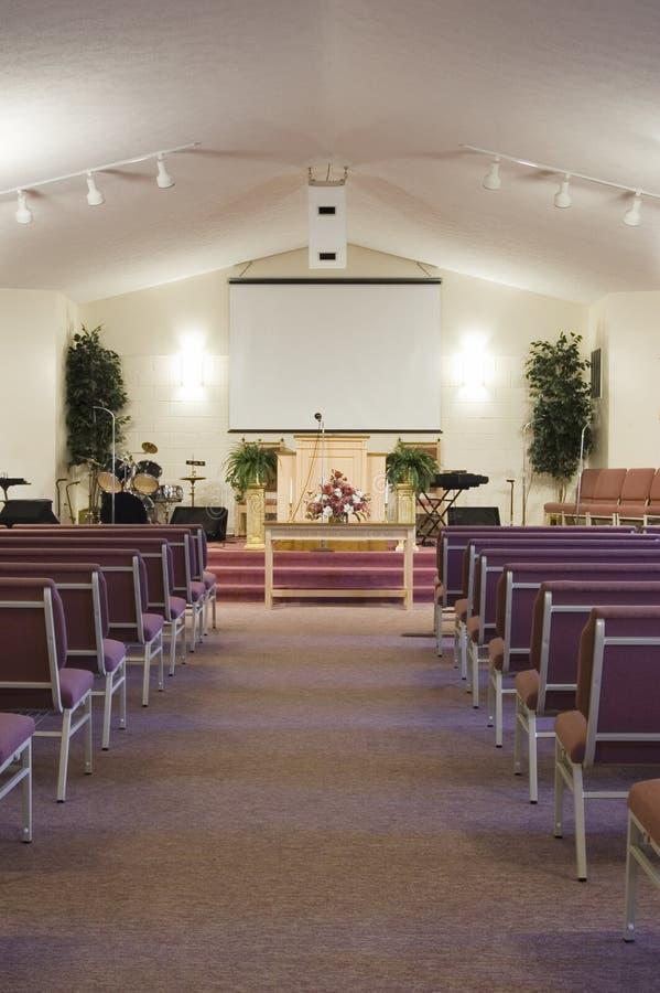 Kirche-Innenraum lizenzfreie stockfotografie