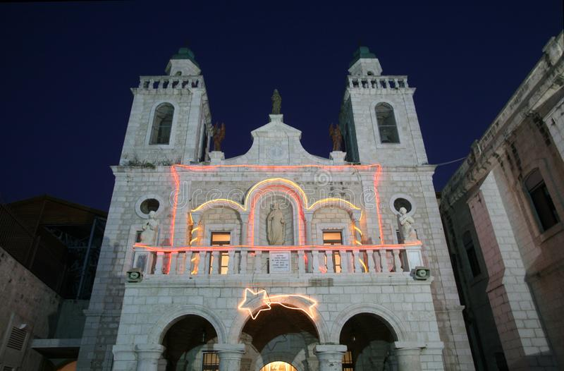 Kirche Jesus-` ersten Wunders in Cana lizenzfreies stockfoto