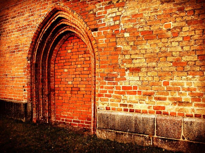 Kirche - kein Eingang stockbild