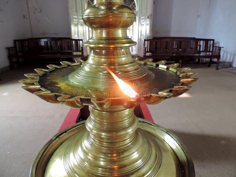 Kirche in Kerala, Indien stockbilder