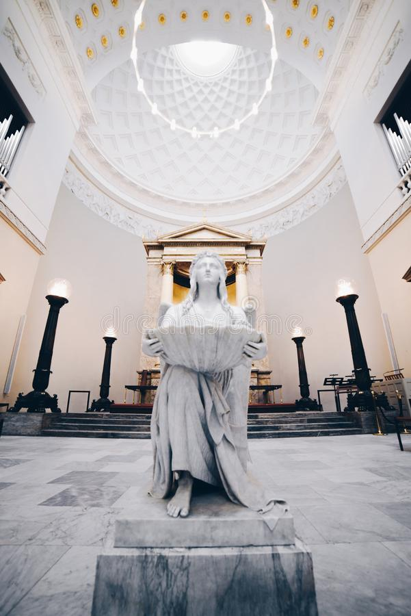 Kirche in Kopenhagen, Dänemark stockfotografie