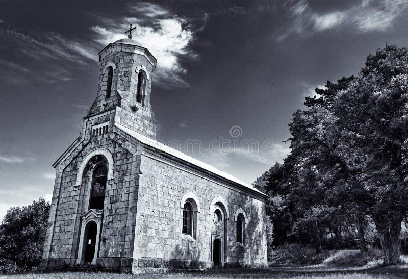 Kirche in Kroatien lizenzfreie stockfotografie