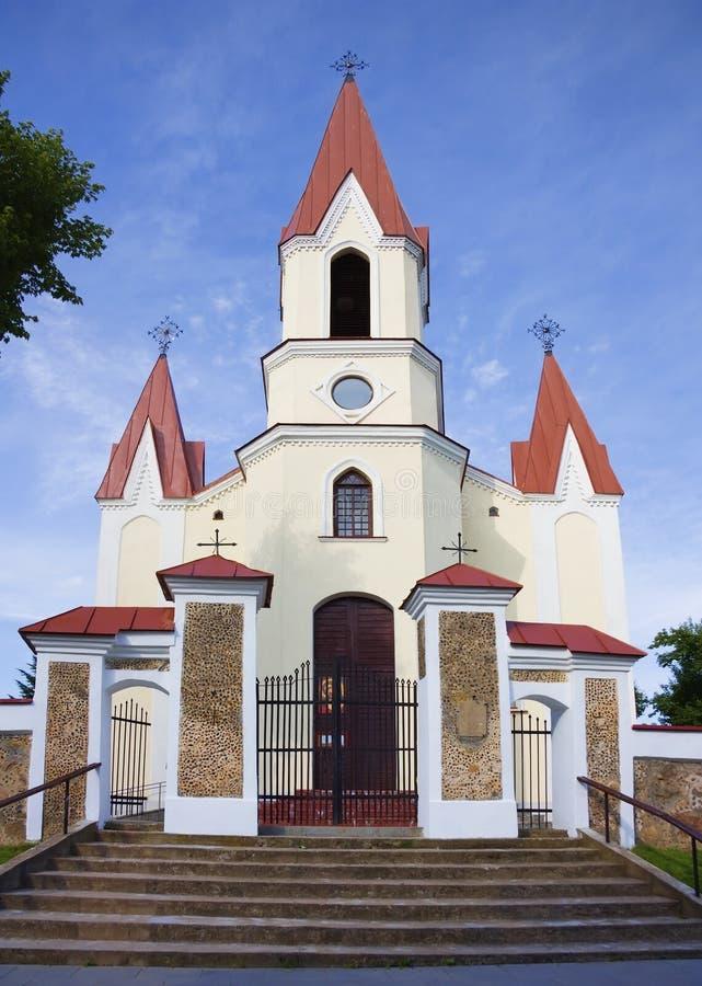 Kirche, Litauen stockbilder