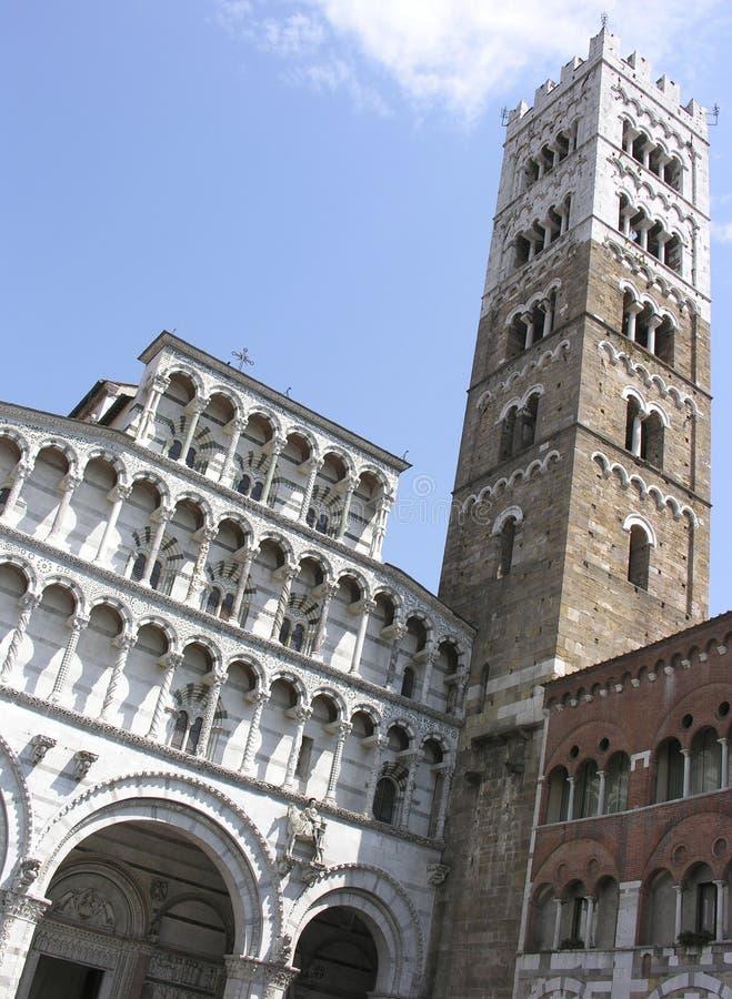 Kirche in Lucca stockfoto