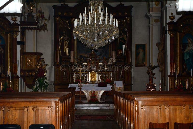 Kirche, Lucenec, Slowakei lizenzfreie stockbilder