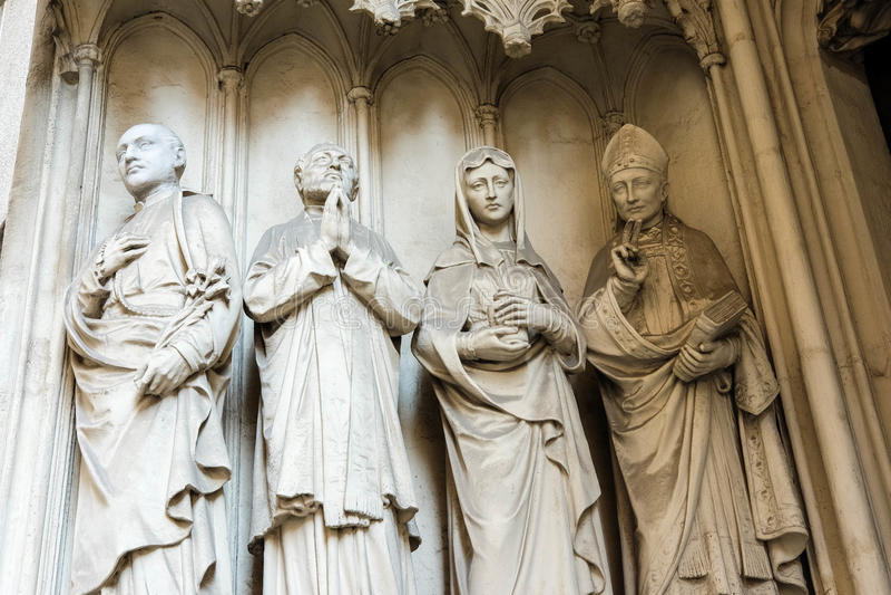 Kirche Maria am Gestade royalty-vrije stock afbeelding