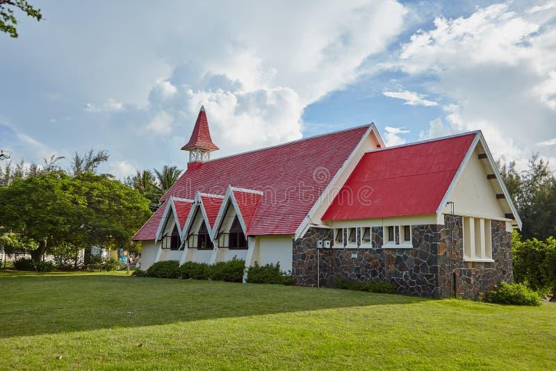 Kirche, Mauritius lizenzfreies stockfoto