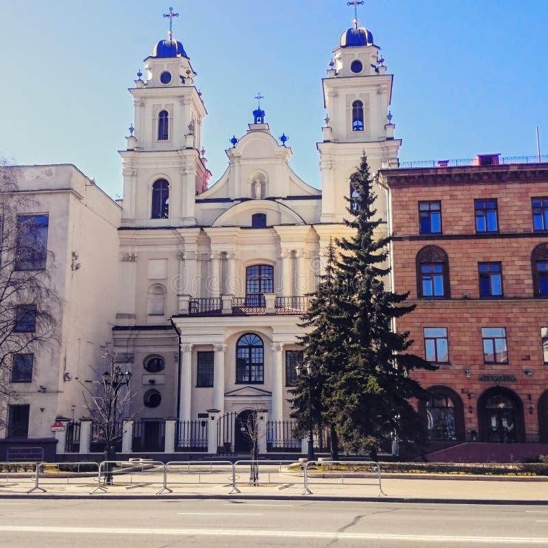 Kirche in Minsk stockfoto