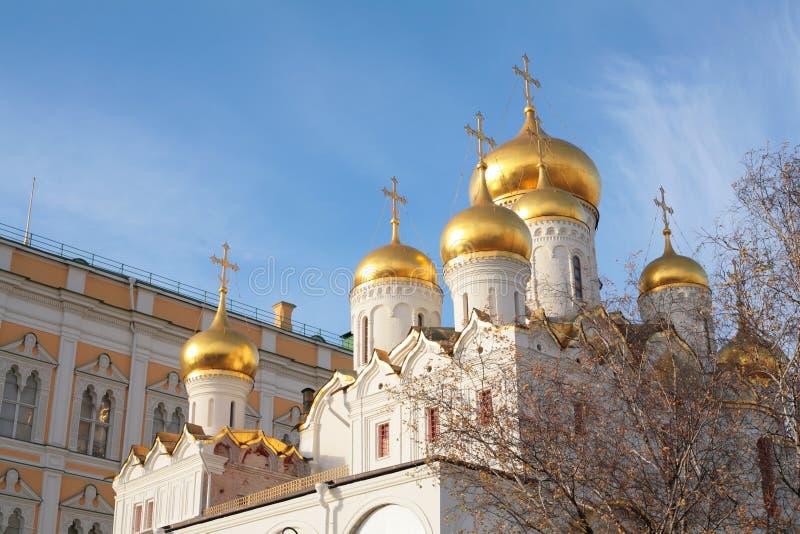 Kirche Moskau Kremlin stockfoto