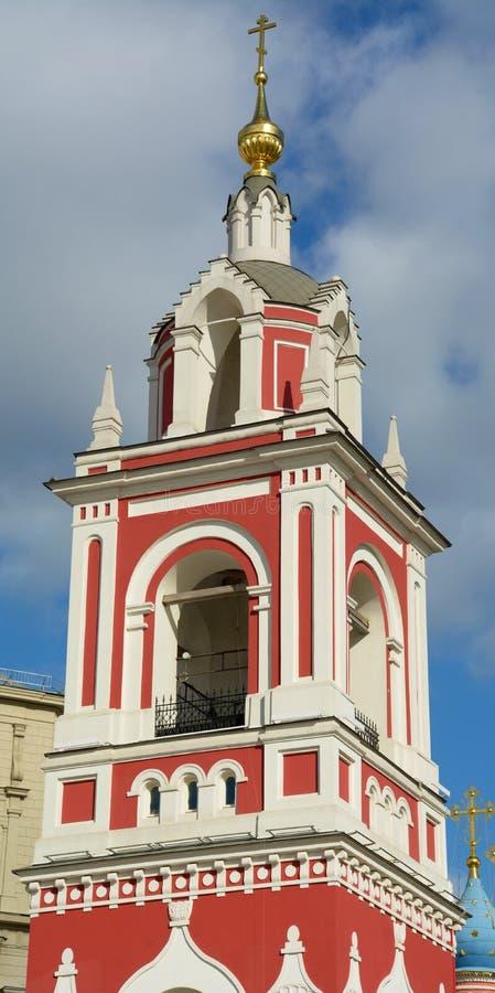 Kirche nahe dem Kreml in Moskau lizenzfreie stockfotos