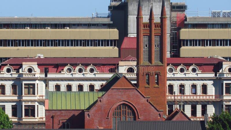 Kirche in Palmerston Nord stockfotografie
