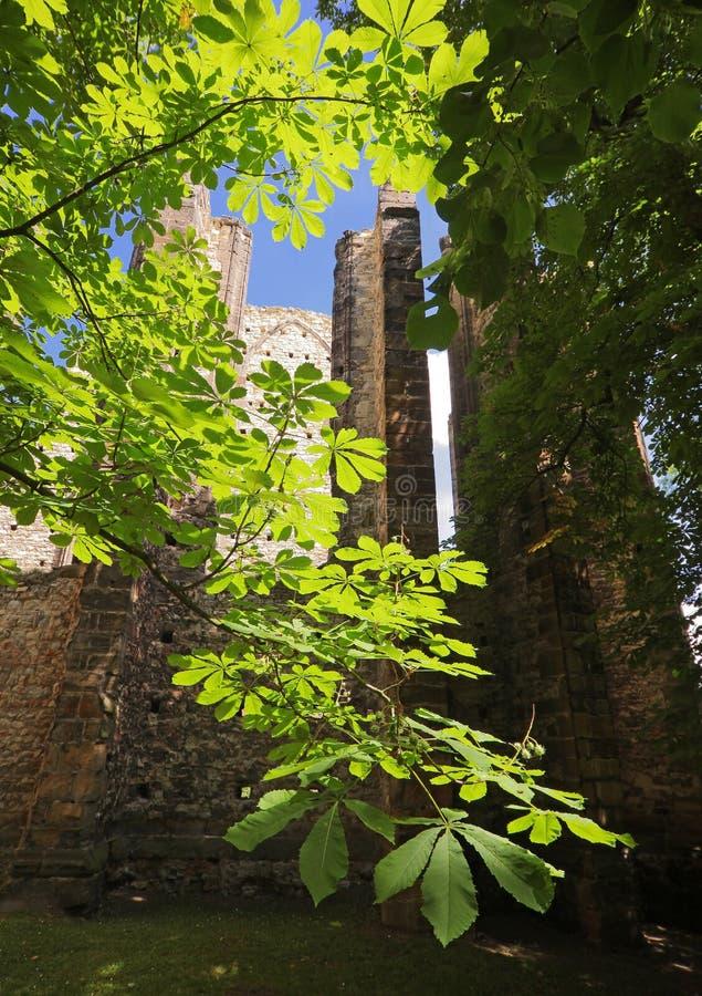 Kirche 04 Panensky Tynec stockbilder