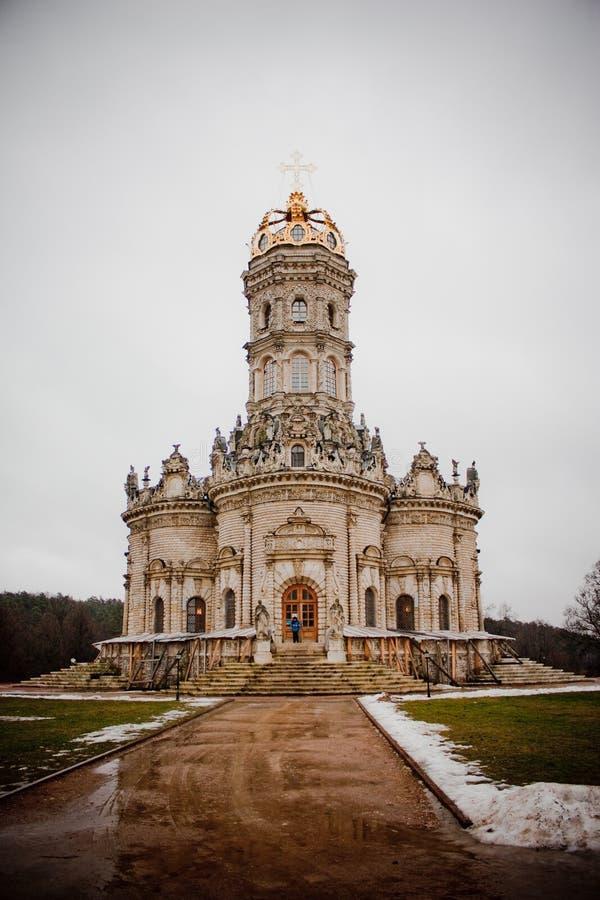 Kirche in Podolsk lizenzfreies stockbild
