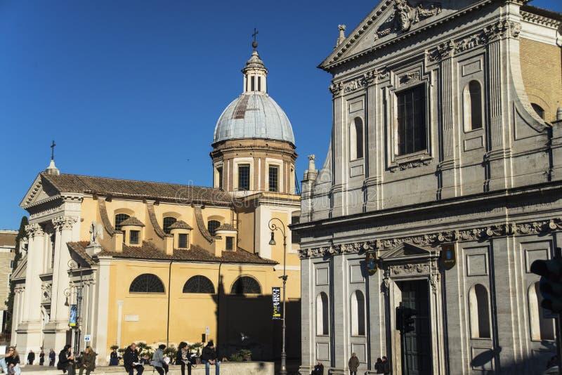 Kirche in Ponte Umberto in Rom stockfotografie