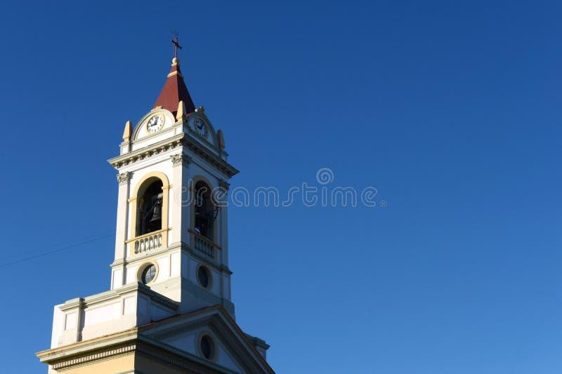 Kirche in Punta Arenas chile lizenzfreies stockbild