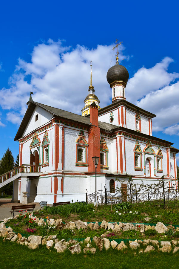Kirche in Region Kolomna der Kreml - Moskaus - Russland lizenzfreie stockbilder