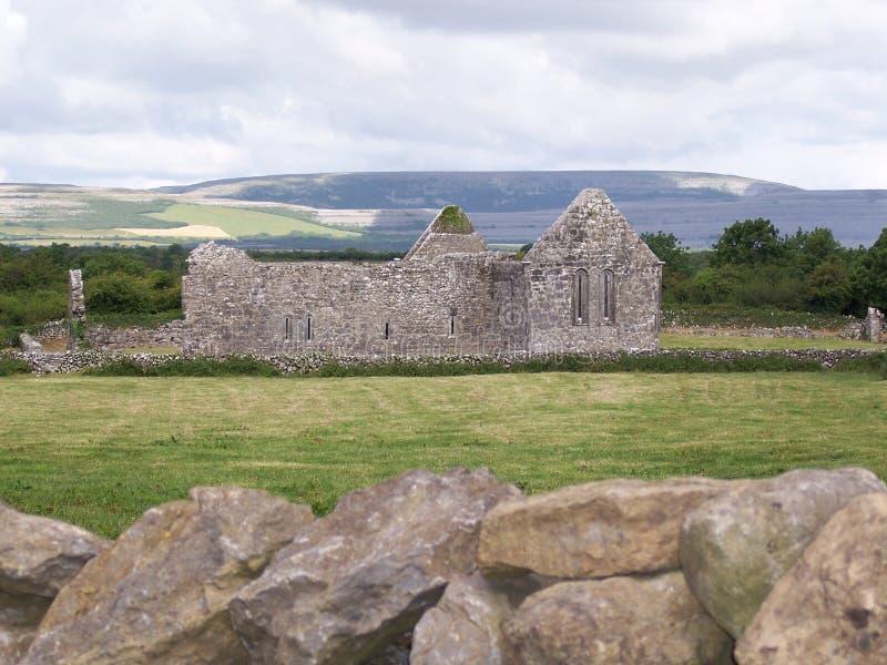 Kirche-Ruinen stockbilder