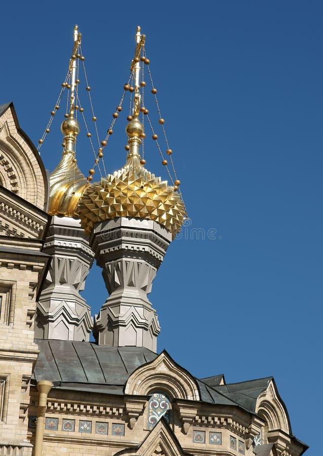 Kirche, Russland, Str. - Petersburg stockbild