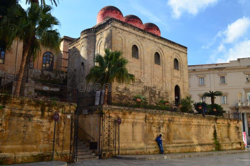 Kirche San Cataldo Palermo Italy lizenzfreies stockfoto