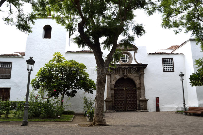 Kirche San Marcos Evangelista, Icod de Los Vinos lizenzfreies stockfoto