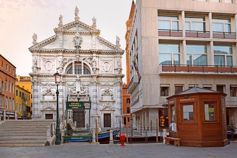 Kirche San Moise Profeta, San Marco, Venedig lizenzfreies stockbild