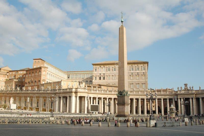 Kirche San-Pietro, Vatikanstadt stockbild