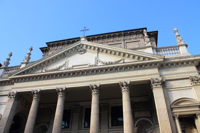 Kirche Sans Filippo Neri stockbild
