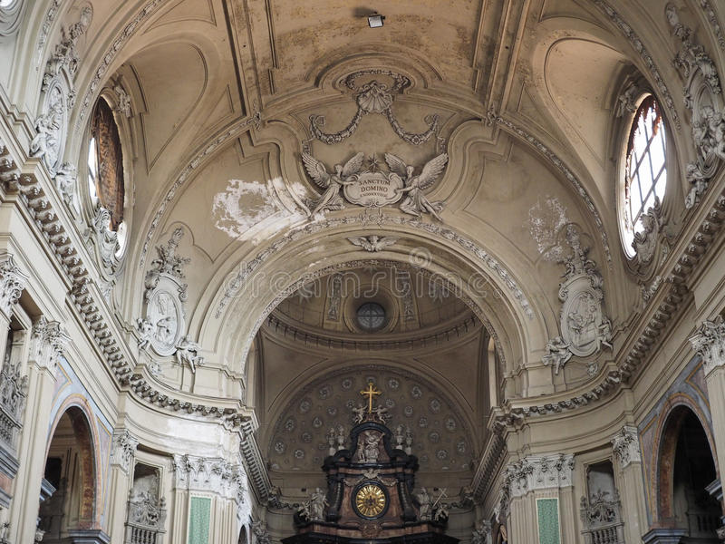 Kirche Sans Filippo Neri in Turin lizenzfreie stockfotos