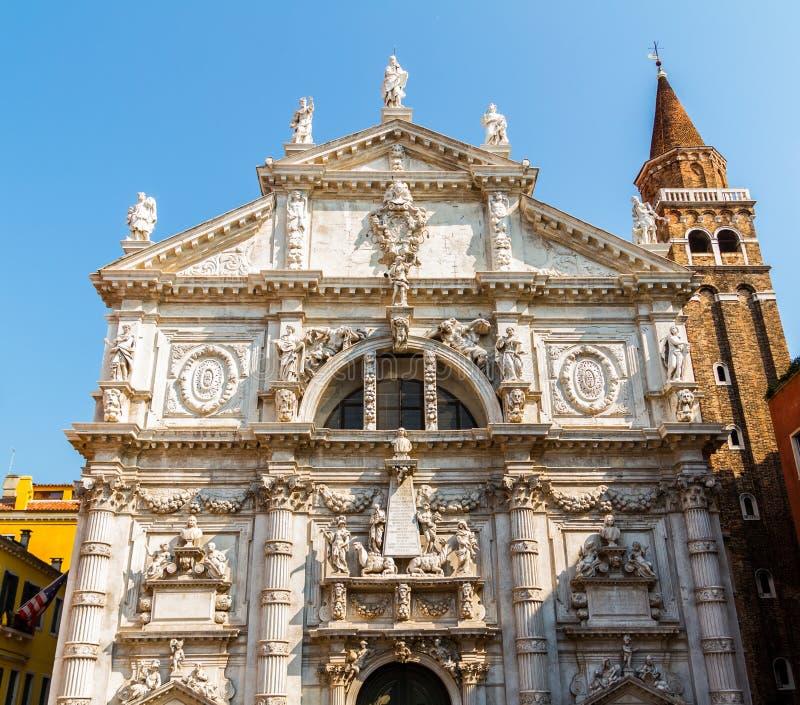 Kirche Sans Moise lizenzfreies stockbild